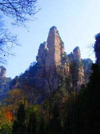 Golden Whip Rock Scenery Pictures