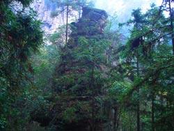 Winebottle Peak Scenery Pictures