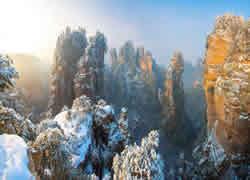 Yangjiajie Snow Scenery Pictures